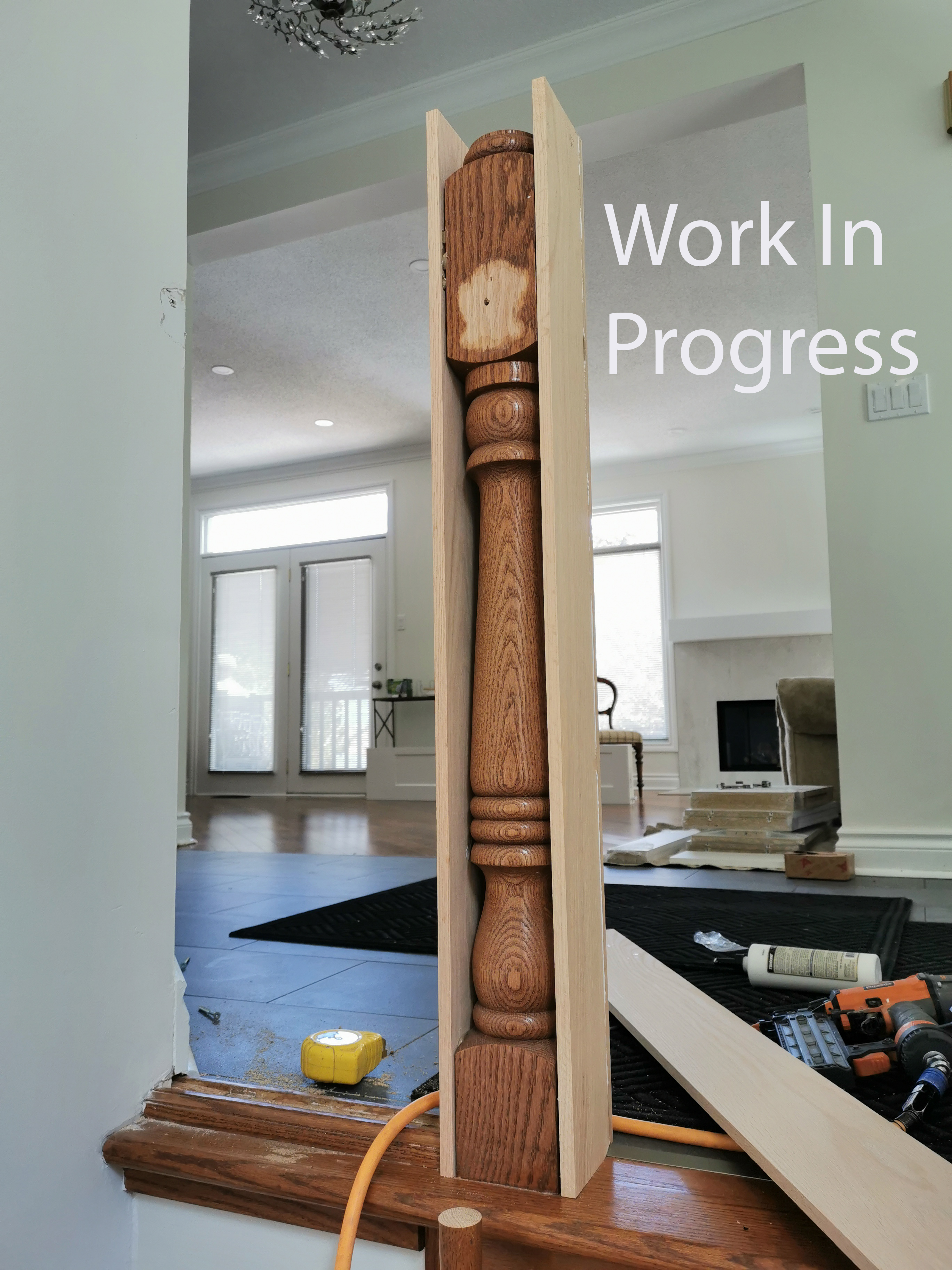 Stair-Remodel-Progress