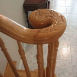 Carved Handrail