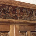 Carved Door Header