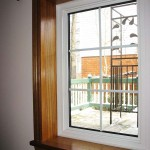 Strassburger window with custom trim