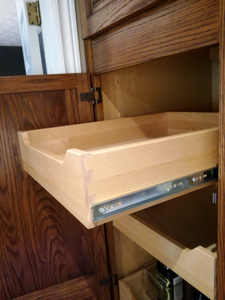 Kitchen Pull Out Drawers Kitchener Waterloo Guelph
