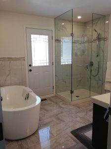 Bathroom renovation in Kitchener Waterloo | Demas Woodworx