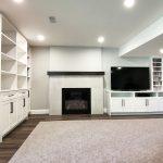 Custom cabinets for basement