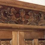 Carved Door Header