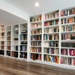 Bookcase library cabinets
